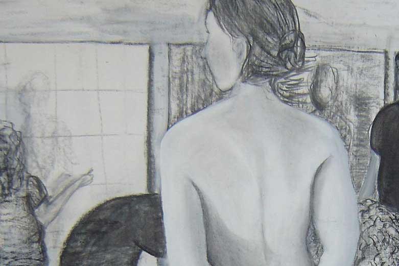 Art Work Sketch Drawing